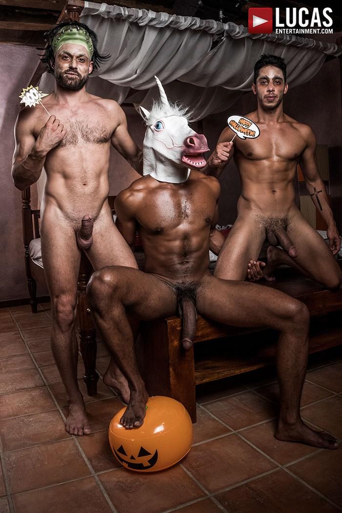 Gratis gay Halloween porno