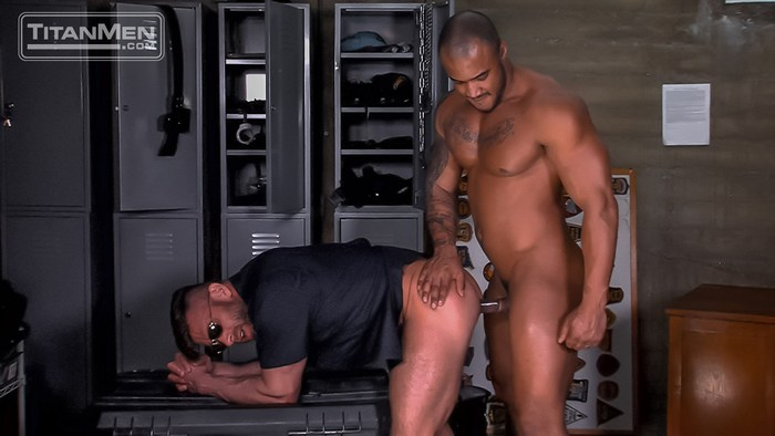 Jason Vario Gay Porn Bruce Beckham Bad Cop Sex Uniform