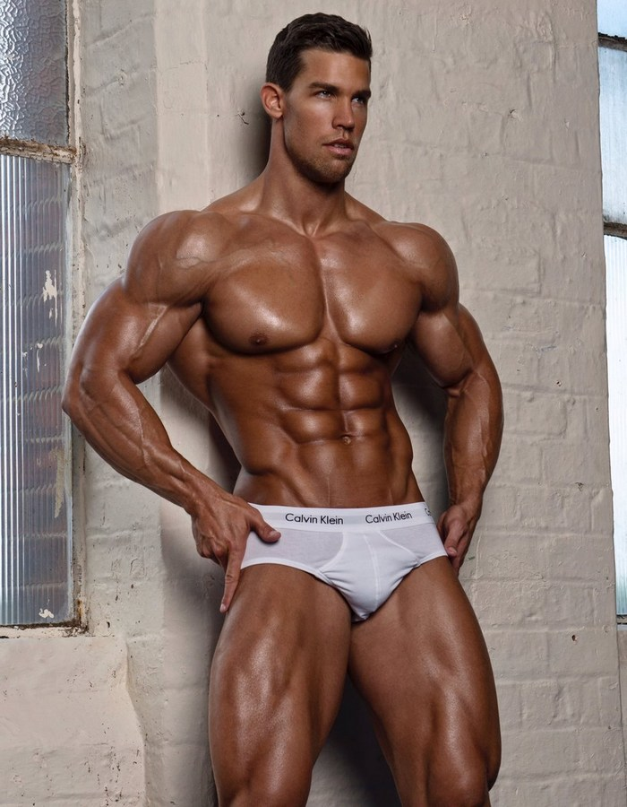 Kris Evans BelAmi Bodybuilder Gay Porn Star Muscle Fitness Model