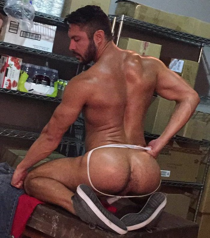 Seth Santoro Naked Gay Porn Behind The Scenes