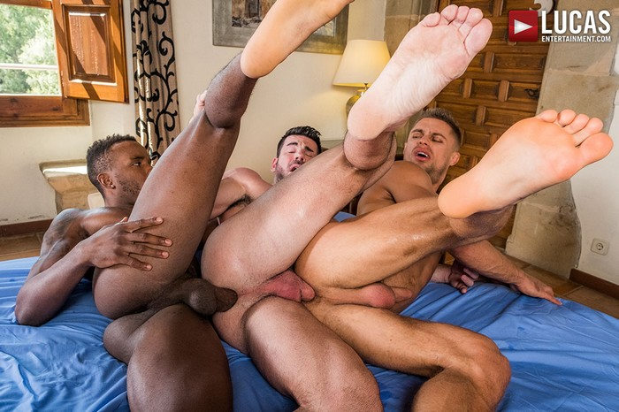 Billy Santoro Gay Porn Klim Gromov Pheonix Fellington Bareback Train Fuck