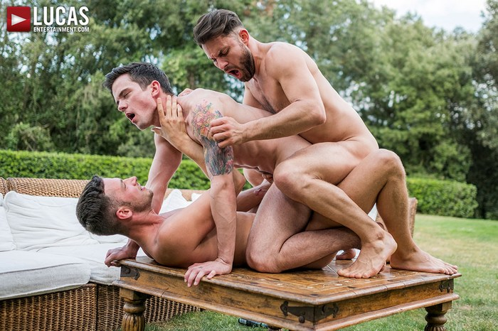 Gay Porn Damon Heart James Castle Dakota Payne