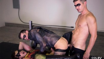 Batman And Robin Gay Porn - The Adventures of Batman and Robin Part 3: Jack Hunter, Christian Bay &  Colby