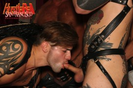 HustlaBall San Francisco Casey Evertt Gang Bang 04