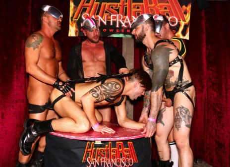 HustlaBall San Francisco Casey Evertt Gang Bang 05