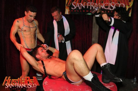 HustlaBall San Francisco Gay Porn Ashley Ryder Triple Fisted 05