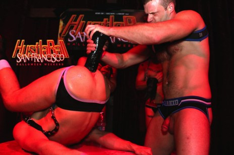 HustlaBall San Francisco Gay Porn Ashley Ryder Triple Fisted 20