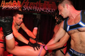 HustlaBall San Francisco Gay Porn Ashley Ryder Triple Fisted 27
