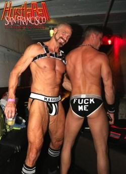 HustlaBall San Francisco Gay Porn Stars Backstage 07