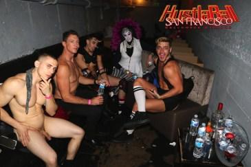 HustlaBall San Francisco Gay Porn Stars Backstage 31