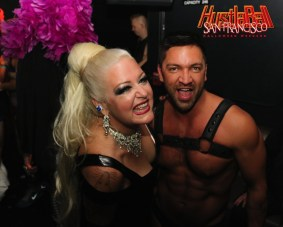 HustlaBall San Francisco Gay Porn Stars Backstage 42
