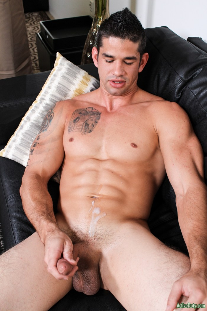 Jason Richards Active Duty Gay Porn Hunk Naked