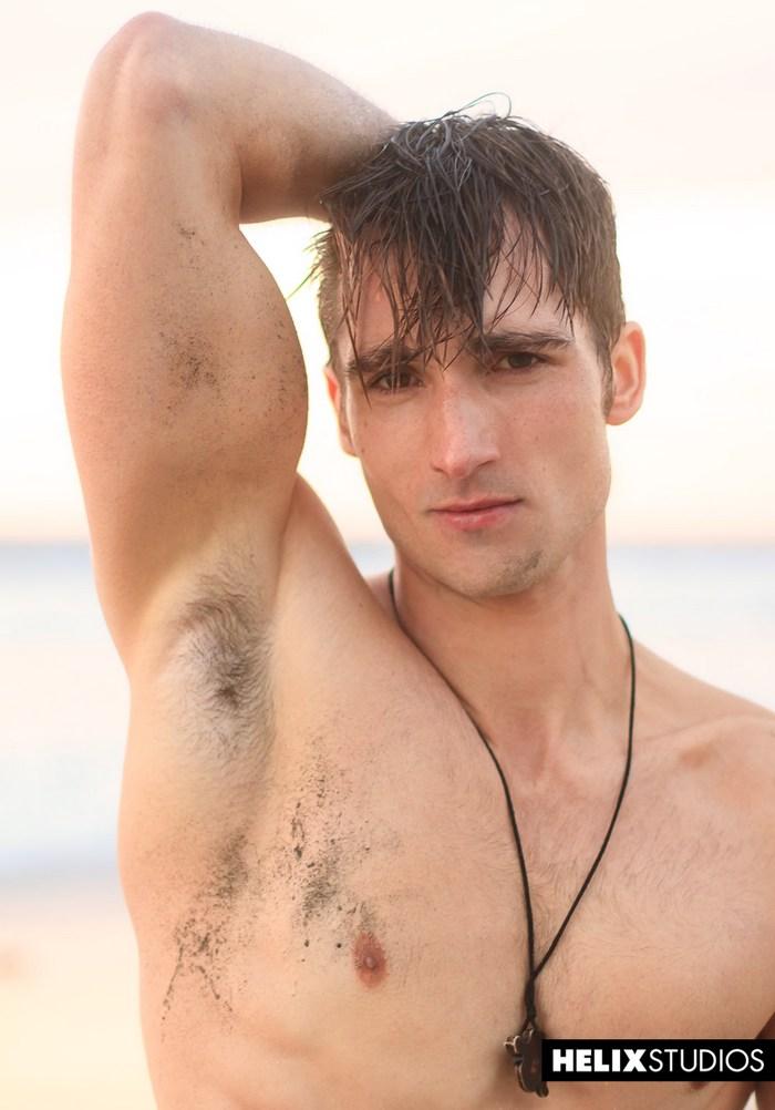 Luke Wilder Gay Porn Star Handsome Jock Helix Studios Surfer Solo