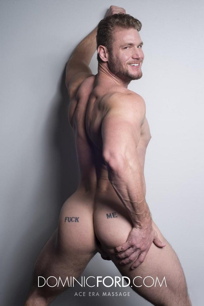 Ace Era Gay Porn Star Muscular Bubble Butt Fuck Me DominicFord