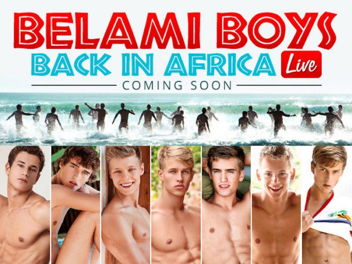 BelAmi Back In Africa Live Gay Porn Stars