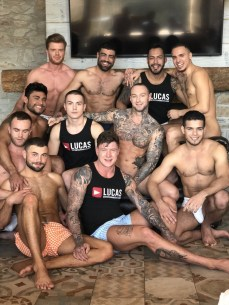 Gay Porn Stars Behind The Scenes LucasEnt Barcelona 2018 03