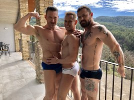 Gay Porn Stars Behind The Scenes LucasEnt Barcelona 2018 16