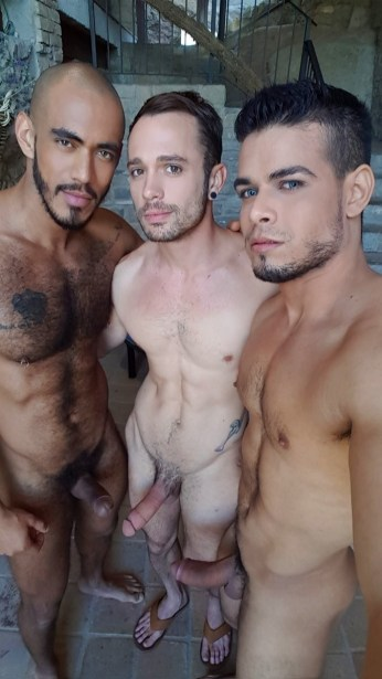 Gay Porn Stars Behind The Scenes LucasEnt Barcelona 2018 22