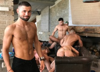 Gay Porn Stars Behind The Scenes LucasEnt Barcelona 2018 26