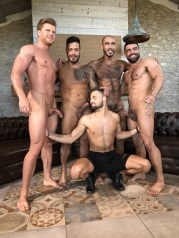 Gay Porn Stars Behind The Scenes LucasEnt Barcelona 2018 27