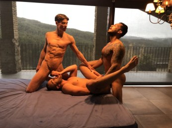 Gay Porn Stars Behind The Scenes LucasEnt Barcelona 2018 69