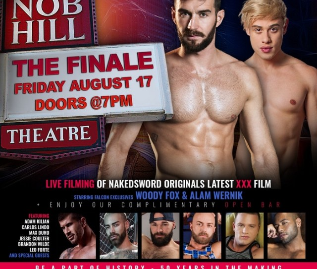 Join Nakedswords Live Filming Of A Gay Porn Movie At Nob Hill Theatre Starring Woody Fox Alam Wernik More