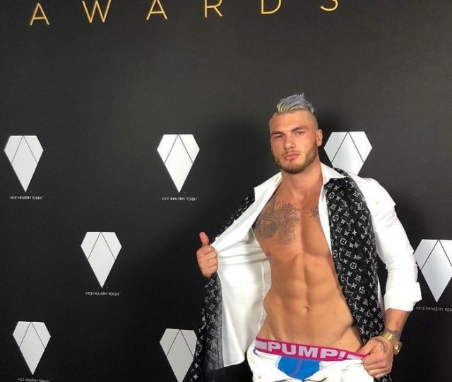 William Seed Gay Porn Star Pornhub Awards 2018