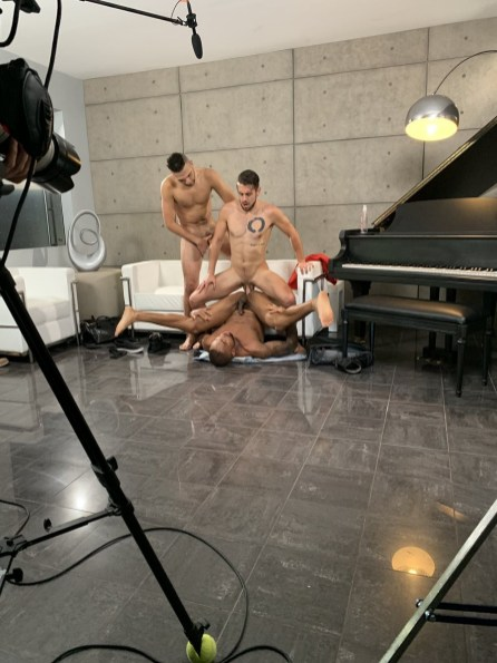NoirMale Gay Porn Stars Behind The Scenes 25