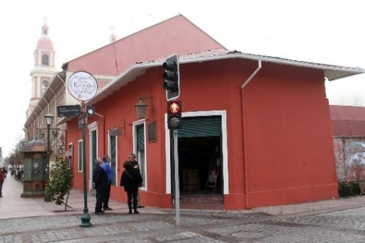 Restauran fachadas coloniales en Rancagua