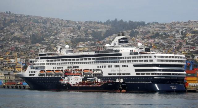 Vuelve el crucero a Valparaíso tras seis años de ausencia