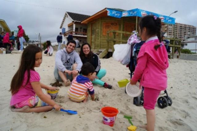 Cerca de 200 personas han disfrutado de El Quisco gracias al Programa Turismo Familiar