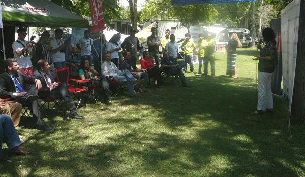 Con éxito se desarrolló la tercera versión del Camping Fest