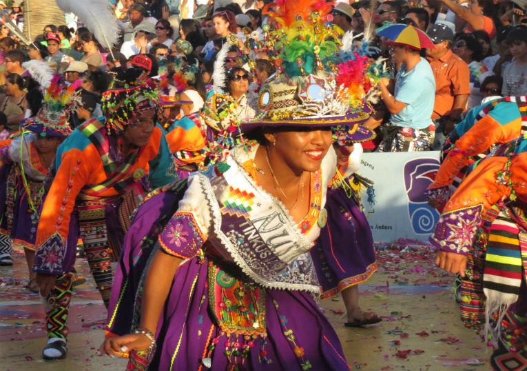 Fuerza del sol: En febrero llegará el Carnaval Andino a llenar de alegría Arica