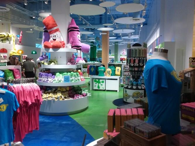 Crayola Experience Orlando Store