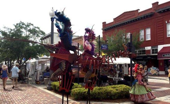 Festival de las Artes del Río St. Johns en Sanford Florida