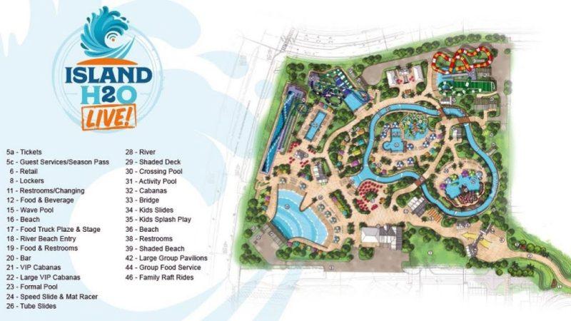 Parque de água Island H2O Live!