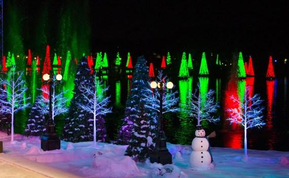 SeaWorld Orlando en Navidad