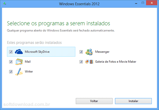 Como instalar Windows Essentials no Windows 10