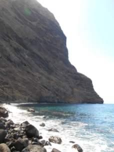 Barranco de Masca (arrivée à la plage / embarcadère)