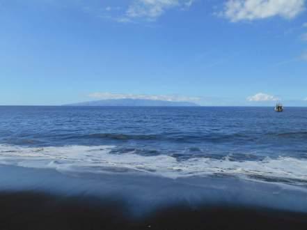 Plage de Masca - vue sur la Gomera