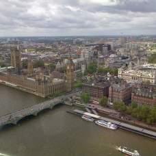 Vue du London eye