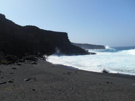 Playa del paso - Sentier du littoral (El Golfo)