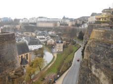 Vue des casemates (Luxembourg)