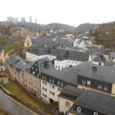 Vue sur le Grund (Luxembourg)