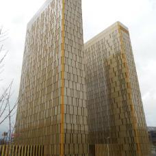 Cour de justice européenne - plateau du Kirchberg (Luxembourg)
