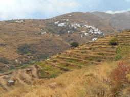 Vue sur Galani (Serifos)
