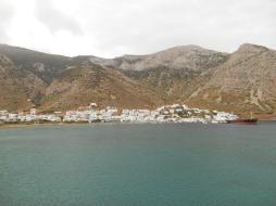 Vue sur Kamares depuis Aghia Ekaterini (Sifnos)