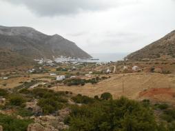 Vue sur Kamares (Sifnos)