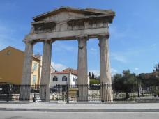 Bbliothèque romaine d'Hadrien (Athènes)