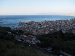 Vue sur Castellammare del Golfo
